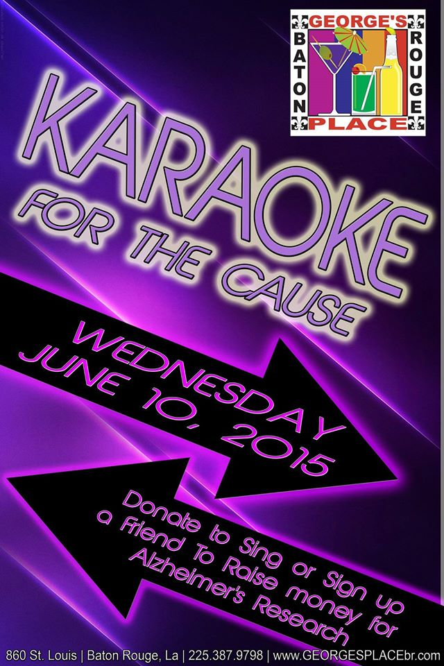 Karaoke for the Cause @ George's Place | Baton Rouge | Louisiana | United States