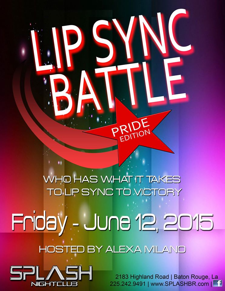 Pride 1 Lip Sync Battle @ Splash Nightclub | Baton Rouge | Louisiana | United States